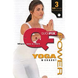 Quick Fix: Power Yoga Workout