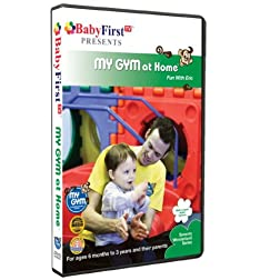 BabyFirstTV Presents My Gym at Home- Fun with Eric