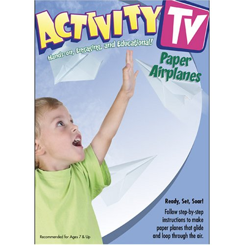 ActivityTV Making & Flying Paper Airplanes! V.1