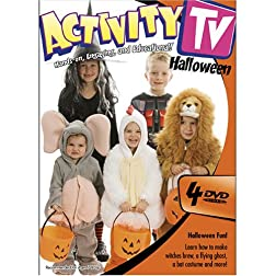 ActivityTV Halloween 4-DVD Pack