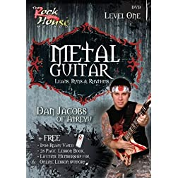 Metal Guitar Leads, Runs and Rhythms: Level 1