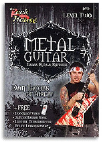 Metal Guitar Leads, Runs and Rhythms: Level 2