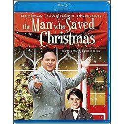The Man Who Saved Christmas [Blu-ray]