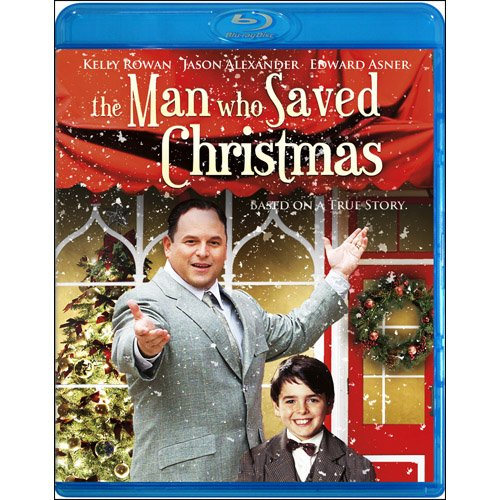 The Man Who Saved Christmas [Blu-ray]