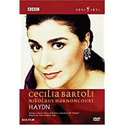 Cecilia Bartoli - Haydn Concert / Nikolaus Harnoncourt, Concentus Musicus Wien