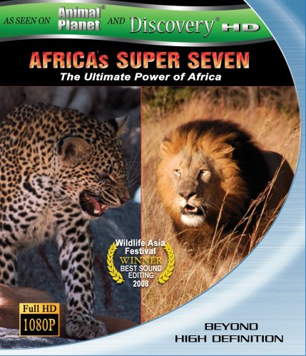Africas Super Seven (Discovery HD Theater) [Blu-ray]