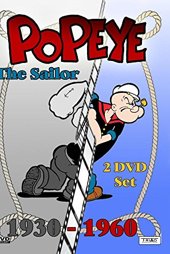 Popeye the Sailor: 1930-1960 (Enhanced Edition) 2 DVD Set