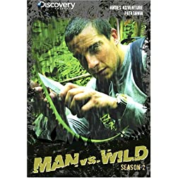 Man vs. Wild Season 2 - Andes Adventure & Patagonia