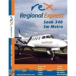 Regional Express Saab 340 & Sw Metro