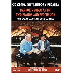 Solti and Perahia: Bartok's Sonata for Two Pianos and Percussion