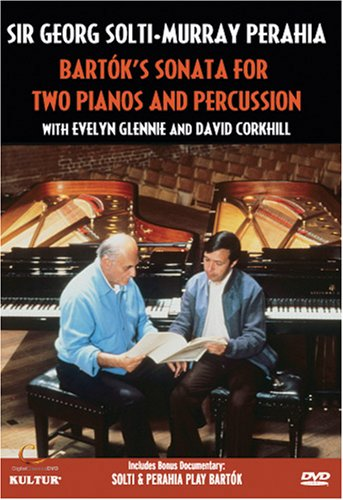 Solti and Perahia: Bartok's Sonata for Two Pianos and Percussion