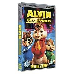 Alvin and The Chipmunks [UMD for PSP]