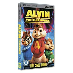 Alvin and The Chipmunks [UMD for PSP]