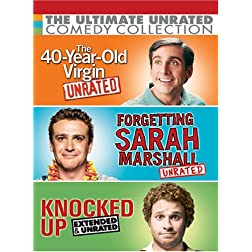Ultimate Unrated Comedy Collection (Forgetting Sarah Marshall / Knocked Up / The 40-Year-Old Virgin)