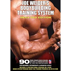 Joe Weider's Bodybuilding Training System 4 DVD Set