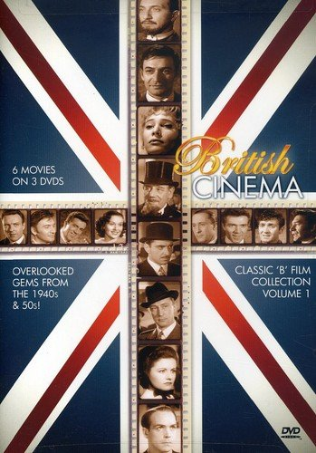 British Cinema Classic B Film Collection, Vol. 1 (Tread Softly Stranger / The Siege of Sidney Street / The Frightened Man / Crimes at the Dark House / The Hooded Terror / Girl in the News)