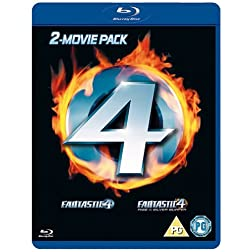 Fantastic Four/Fantastic Four-Rise of the Silver S [Blu-ray]