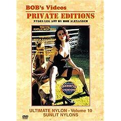 Bob's Videos - Private Editions - Ultimate Nylon - Volume 10: Sunlit Nylons