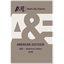 A&amp;E -- American Justice LAPD