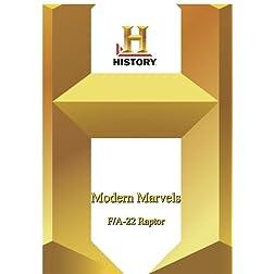 History -   Modern Marvels : F/A-22 Raptor