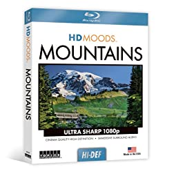 HD Moods Mountains [Blu-ray]