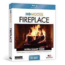 HD Moods Fireplace [Blu-ray]