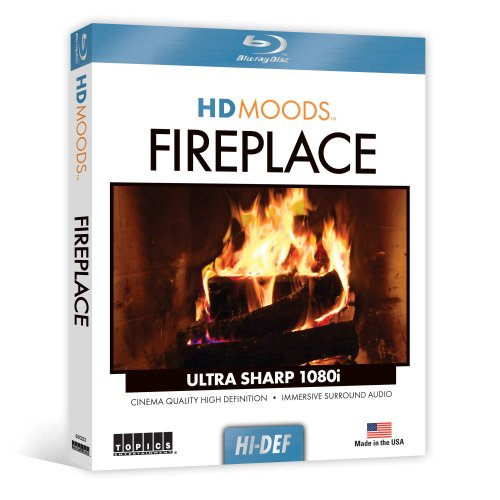 HD Moods Fireplace [Blu-ray]