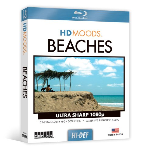 HD Moods Tropical Beaches [Blu-ray]
