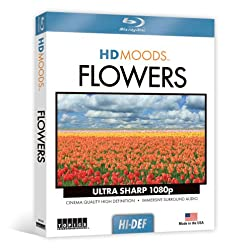 HD Moods Flowers [Blu-ray]