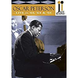 Jazz Icons: Oscar Peterson - Live in '63, '64 & '65