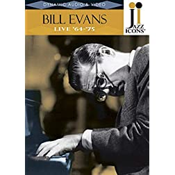 Jazz Icons: Bill Evans - Live in '64-'75