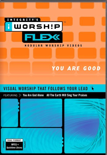 iWorship FLEXX You Are Good MPEG DVD-Rom Library