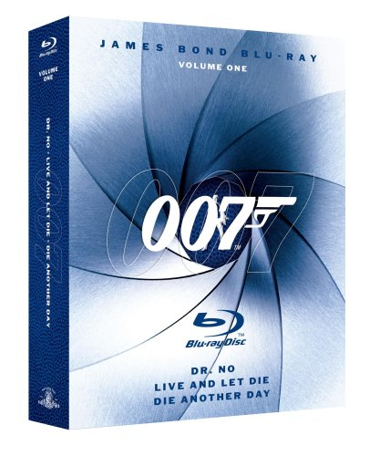James Bond Blu-ray Collection Three-Pack, Vol. 1 (Dr. No / Die Another Day / Live and Let Die) [Blu-ray]