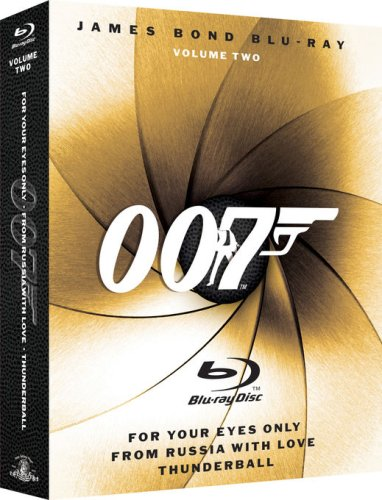 James Bond Blu-ray Collection Three-Pack, Vol.2 (For Your Eyes Only / From Russia with Love / Thunderball) [Blu-ray]