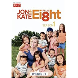 Jon & Kate Plus 8 The Complete 1st Season (2 DVD Set)