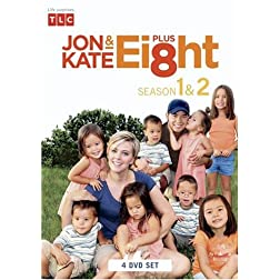 Jon &amp; Kate Plus 8 The Complete 1st and 2nd Season (4 DVD Set)