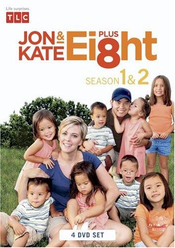 Jon & Kate Plus 8 The Complete 1st and 2nd Season (4 DVD Set)