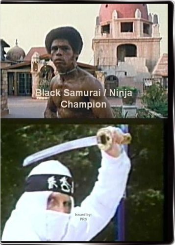 Black Samurai / Ninja Champion