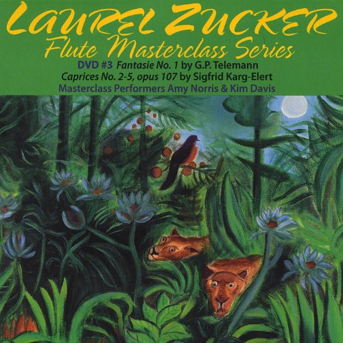 Laurel Zucker Flute Masterclass DVD Series No. 3