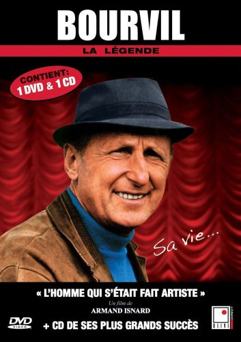 Bourvil - 1 DVD documentaire + 1 CD (French only)