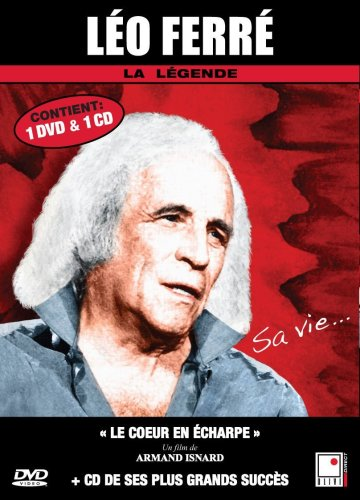 Leo Ferre - 1 documentaire (Le coeur en echarpe) + 1 CD (French only)