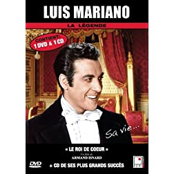Luis Mariano - 1 documentaire (Le roi de coeur) + 1 CD (French only)