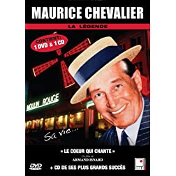 Maurice Chevalier - 1 documentaire (Le coeur qui chante) + 1 CD (French only)