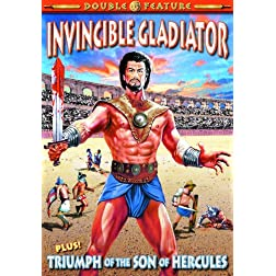 Gladiator Double Feature: Invincible Gladiator (1962) / Triumph of the Son of Hercules (1961)