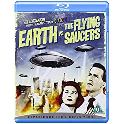 Earth Vs. The Flying Saucers [Blu-ray]