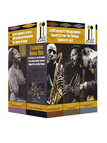Jazz Icons: Series 3 Box Set (8 DVDs)