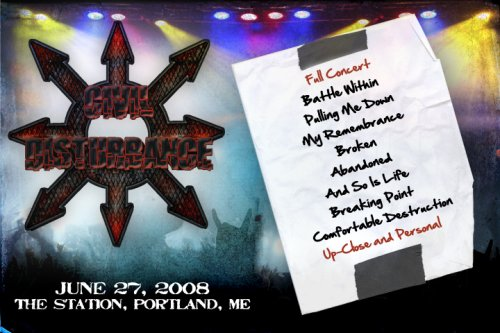 Civil Disturbance Live the DVD