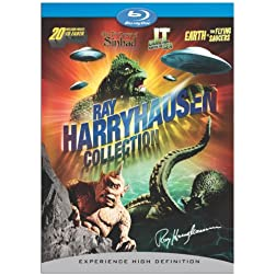 Ray Harryhausen Collection (20 Million Miles to Earth, Earth vs. Flying Saucers, It Came from Beneath the Sea, 7th Voyage of Sinbad) [Blu-ray]