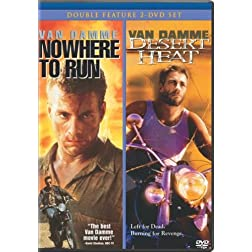 Nowhere to Run (1993) / Desert Heat (2-pack)