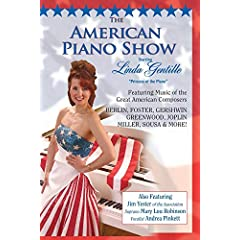 AMERICAN PIANO SHOW DVD starring Linda Gentille